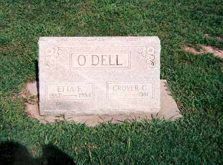 O'DELL, GROVER C - Clay County, Illinois | GROVER C O'DELL - Illinois Gravestone Photos