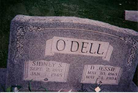 O'DELL, D JESSIE - Clay County, Illinois   D JESSIE O'DELL - Illinois Gravestone Photos