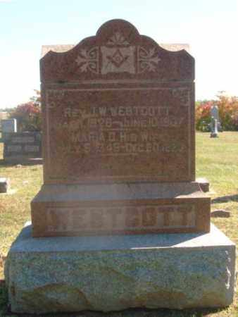 WESTCOTT, JOHN W. - Clay County, Illinois | JOHN W. WESTCOTT - Illinois Gravestone Photos