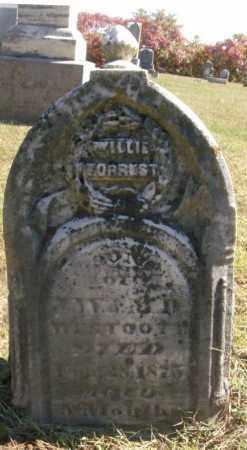 WESTCOTT, WILLIE FORREST - Clay County, Illinois | WILLIE FORREST WESTCOTT - Illinois Gravestone Photos