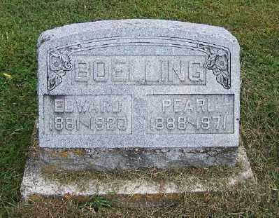 BOELLING, EDWARD ROBERT PHILIP - Clinton County, Illinois | EDWARD ROBERT PHILIP BOELLING - Illinois Gravestone Photos