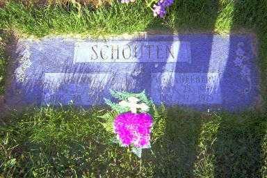 SCHOUTEN, WILLIAM ADELBERT - Coles County, Illinois   WILLIAM ADELBERT SCHOUTEN - Illinois Gravestone Photos