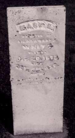 WHITE, MARY E. - Coles County, Illinois   MARY E. WHITE - Illinois Gravestone Photos