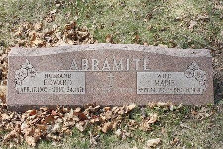 ABRAMITE, EDWARD - Cook County, Illinois | EDWARD ABRAMITE - Illinois Gravestone Photos