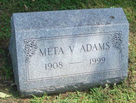 ADAMS, META V. - Cook County, Illinois | META V. ADAMS - Illinois Gravestone Photos