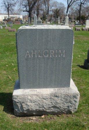 AHLGRIM, HERMAN - Cook County, Illinois | HERMAN AHLGRIM - Illinois Gravestone Photos