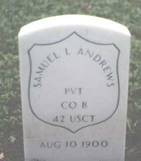 ANDREWS, SAMUEL L. - Cook County, Illinois | SAMUEL L. ANDREWS - Illinois Gravestone Photos