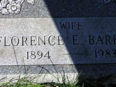 OLSON BARRETT, FLORENCE E. - Cook County, Illinois | FLORENCE E. OLSON BARRETT - Illinois Gravestone Photos