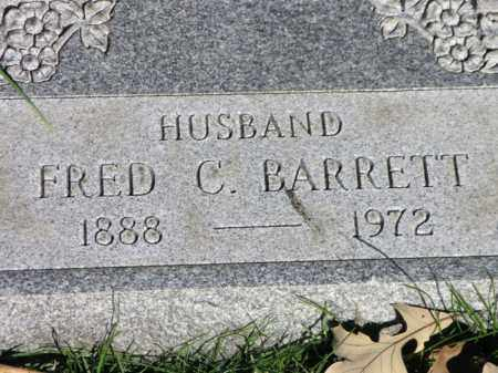BARRETT, FRED C. - Cook County, Illinois | FRED C. BARRETT - Illinois Gravestone Photos