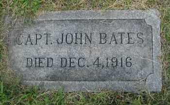 BATES, CAPT. JOHN - Cook County, Illinois | CAPT. JOHN BATES - Illinois Gravestone Photos