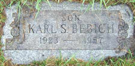 BEBICH, KARL - Cook County, Illinois   KARL BEBICH - Illinois Gravestone Photos