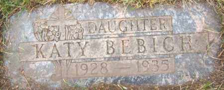 BEBICH, KATY - Cook County, Illinois | KATY BEBICH - Illinois Gravestone Photos