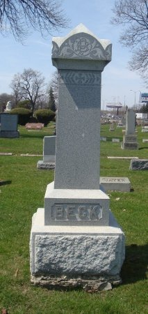 BECK, PHILLIPP - Cook County, Illinois | PHILLIPP BECK - Illinois Gravestone Photos