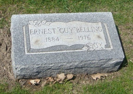 """BELLING, ERNEST """"GUY"""" - Cook County, Illinois   ERNEST """"GUY"""" BELLING - Illinois Gravestone Photos"""