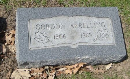 BELLING, GORDON A. - Cook County, Illinois | GORDON A. BELLING - Illinois Gravestone Photos