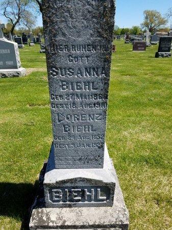 BIEHL, SUSANNA - Cook County, Illinois | SUSANNA BIEHL - Illinois Gravestone Photos