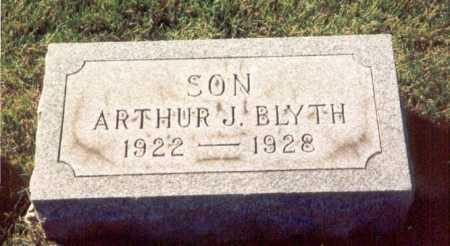 BLYTH, ARTHUR - Cook County, Illinois | ARTHUR BLYTH - Illinois Gravestone Photos