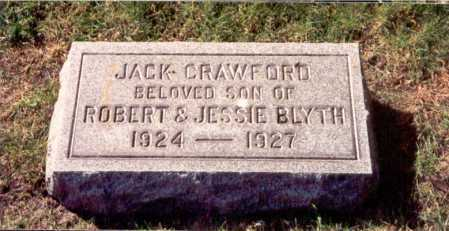 BLYTH, JACK - Cook County, Illinois | JACK BLYTH - Illinois Gravestone Photos
