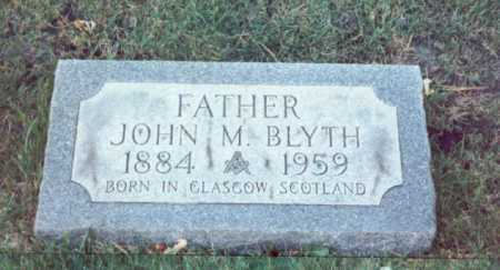 BLYTH, JOHN - Cook County, Illinois | JOHN BLYTH - Illinois Gravestone Photos