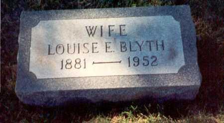 BLYTH, LOUISE - Cook County, Illinois | LOUISE BLYTH - Illinois Gravestone Photos