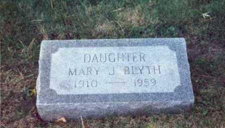 BLYTH, MARY - Cook County, Illinois | MARY BLYTH - Illinois Gravestone Photos