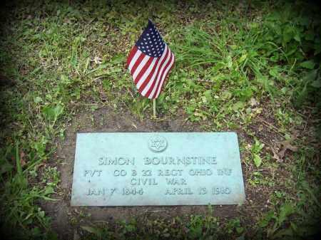 BOURNSTINE, SIMON - Cook County, Illinois | SIMON BOURNSTINE - Illinois Gravestone Photos