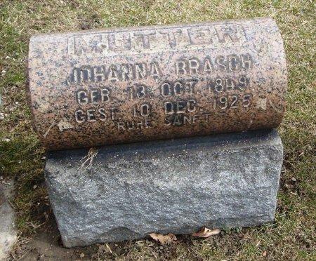 BRASCH, JOHANNA - Cook County, Illinois   JOHANNA BRASCH - Illinois Gravestone Photos