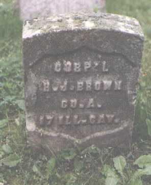 BROWN, H. J. - Cook County, Illinois   H. J. BROWN - Illinois Gravestone Photos