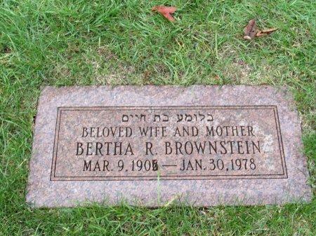 GOLDSTEIN BROWNSTEIN, BERTHA REBECCA - Cook County, Illinois   BERTHA REBECCA GOLDSTEIN BROWNSTEIN - Illinois Gravestone Photos