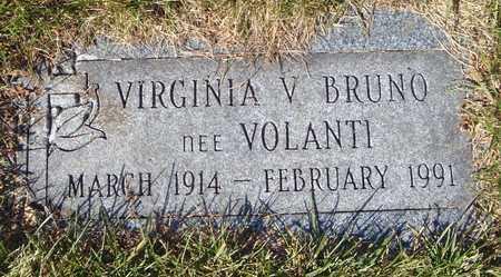 BRUNO, VIRGINIA V. - Cook County, Illinois | VIRGINIA V. BRUNO - Illinois Gravestone Photos