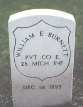 BURNETT, WILLIAM E. - Cook County, Illinois | WILLIAM E. BURNETT - Illinois Gravestone Photos