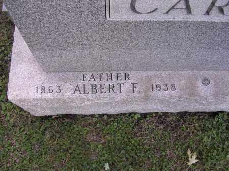 CARLSON, ALBERT F. - Cook County, Illinois | ALBERT F. CARLSON - Illinois Gravestone Photos