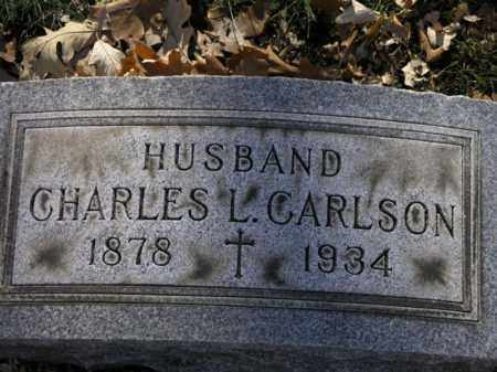 CARLSON, CHARLES L. - Cook County, Illinois   CHARLES L. CARLSON - Illinois Gravestone Photos