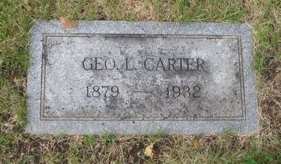 CARTER, GEORGE L. - Cook County, Illinois | GEORGE L. CARTER - Illinois Gravestone Photos