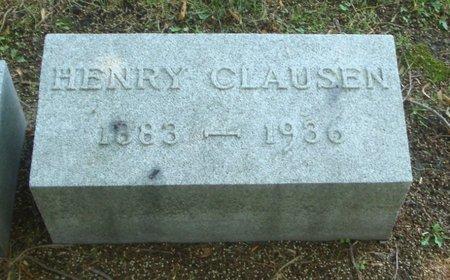 CLAUSEN, HENRY - Cook County, Illinois | HENRY CLAUSEN - Illinois Gravestone Photos