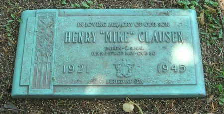 """CLAUSEN, HENRY """"MIKE"""" - Cook County, Illinois 