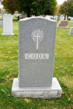 COOK, MARIO V. - Cook County, Illinois | MARIO V. COOK - Illinois Gravestone Photos