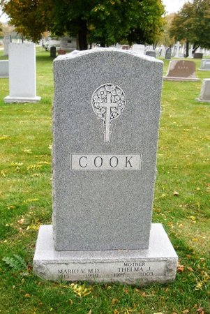 COOK, THELMA J. - Cook County, Illinois | THELMA J. COOK - Illinois Gravestone Photos