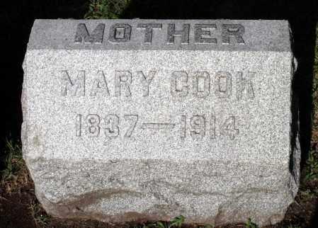 COOK, MARY - Cook County, Illinois   MARY COOK - Illinois Gravestone Photos