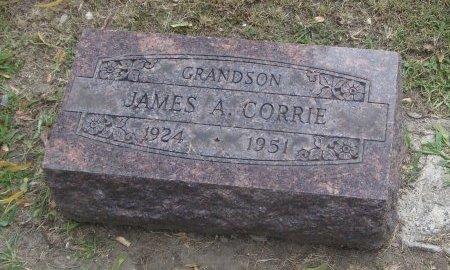 CORRIE, JAMES A. - Cook County, Illinois | JAMES A. CORRIE - Illinois Gravestone Photos