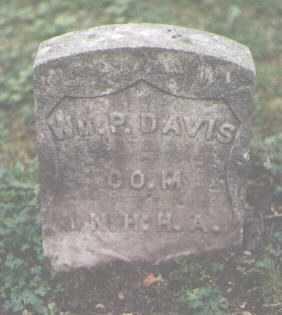 DAVIS, WILLIAM P. - Cook County, Illinois | WILLIAM P. DAVIS - Illinois Gravestone Photos