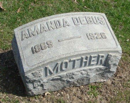 DEBUS, AMANDA - Cook County, Illinois | AMANDA DEBUS - Illinois Gravestone Photos