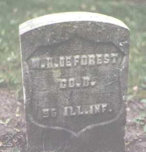 DEFOREST, W. H. - Cook County, Illinois | W. H. DEFOREST - Illinois Gravestone Photos
