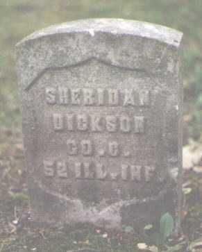 DICKSON, SHERIDAN - Cook County, Illinois | SHERIDAN DICKSON - Illinois Gravestone Photos