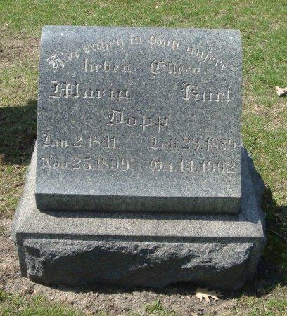 DOPP, MARIA - Cook County, Illinois   MARIA DOPP - Illinois Gravestone Photos