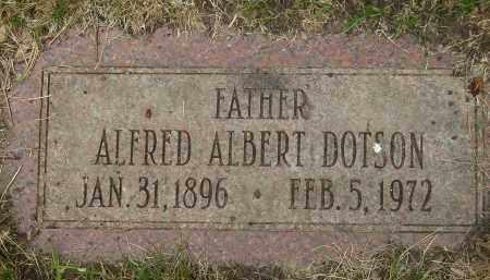 DOTSON, ALFRED ALBERT - Cook County, Illinois   ALFRED ALBERT DOTSON - Illinois Gravestone Photos