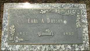 DOTSON, EARL A. - Cook County, Illinois | EARL A. DOTSON - Illinois Gravestone Photos