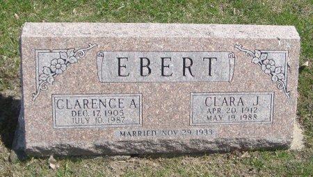 EBERT, CLARENCE A. - Cook County, Illinois   CLARENCE A. EBERT - Illinois Gravestone Photos
