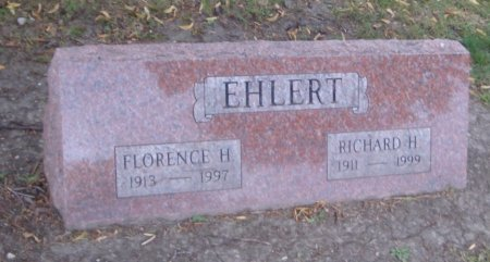 EHLERT, FLORENCE H. - Cook County, Illinois | FLORENCE H. EHLERT - Illinois Gravestone Photos