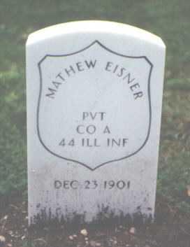 EISNER, MATHEW - Cook County, Illinois | MATHEW EISNER - Illinois Gravestone Photos